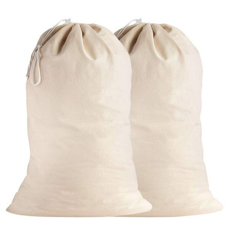 SweetNeedle - Cotton Extra-Large Heavy-Duty Laundry Bags-1