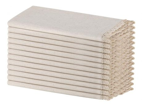SweetNeedle - Flax Cotton Dinner Napkins-1