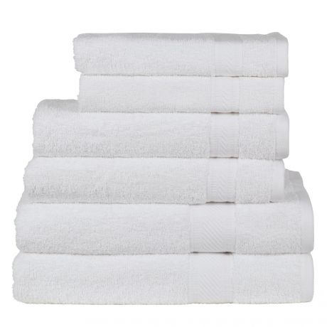 SweetNeedle - Daily Use 6 Piece Towel Set-1