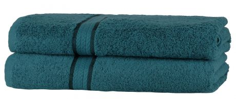 Super Soft 2 Pack Bath Sheets - Teal