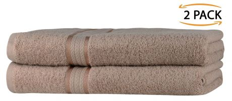 Super Soft 2 Pack Bath Towels - Linen