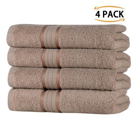 Super Soft 4 Pack Hand Towels - Linen