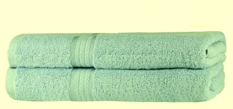 Super Soft 2 Pack Bath Towels - Sage Green