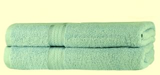 SweetNeedle - Super Soft 2 Pack Bath Sheets - Sage Green